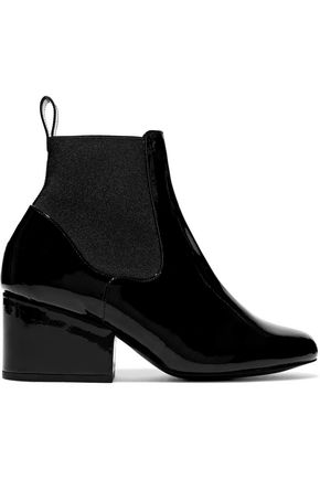 ROBERT CLERGERIE Moon patent-leather ankle boots