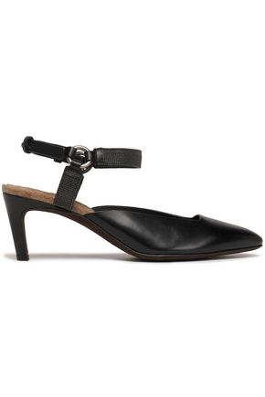 BRUNELLO CUCINELLI Leather pumps