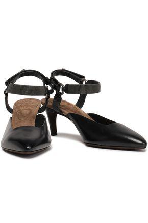 BRUNELLO CUCINELLI Leather pumps