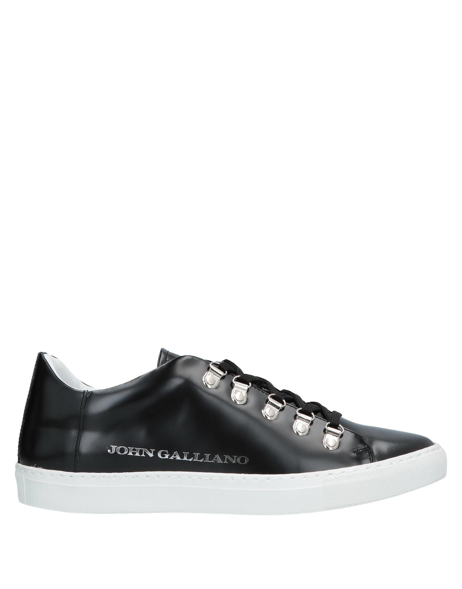 JOHN GALLIANO Низкие кеды и кроссовки кроссовки john galliano john galliano jo658amaeqa5