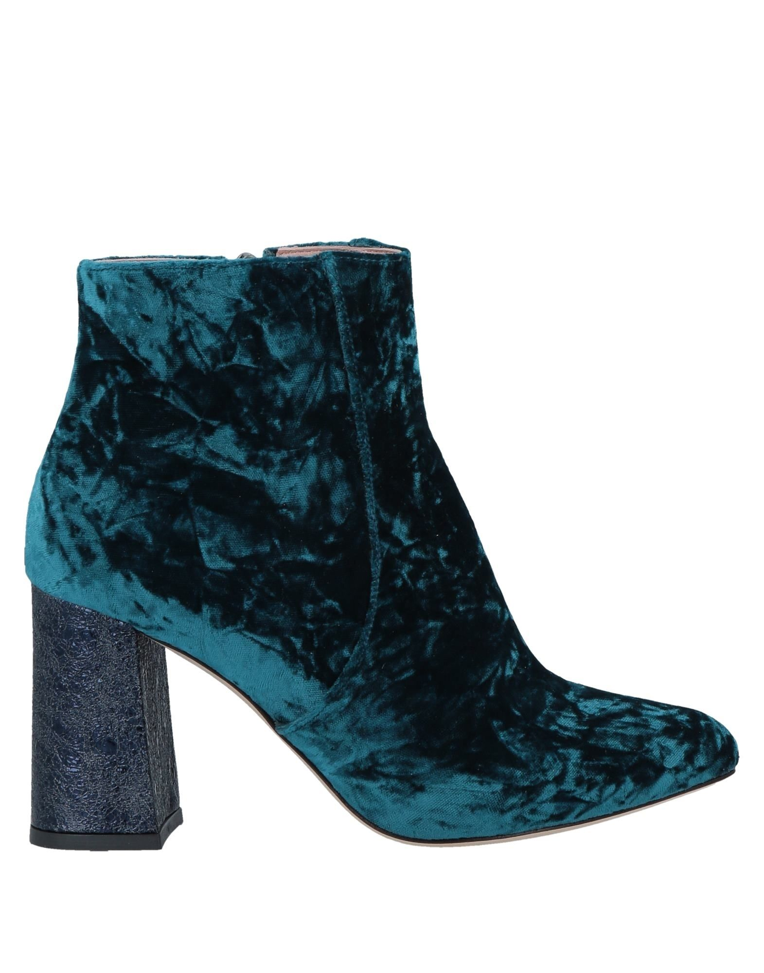 BAMS Ankle Boots in Blue