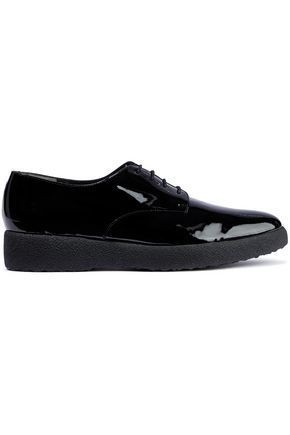 ROBERT CLERGERIE Feydol patent-leather brogues