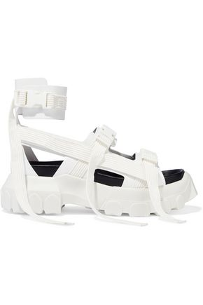 RICK OWENS Hiking Spartan leather platform sandals
