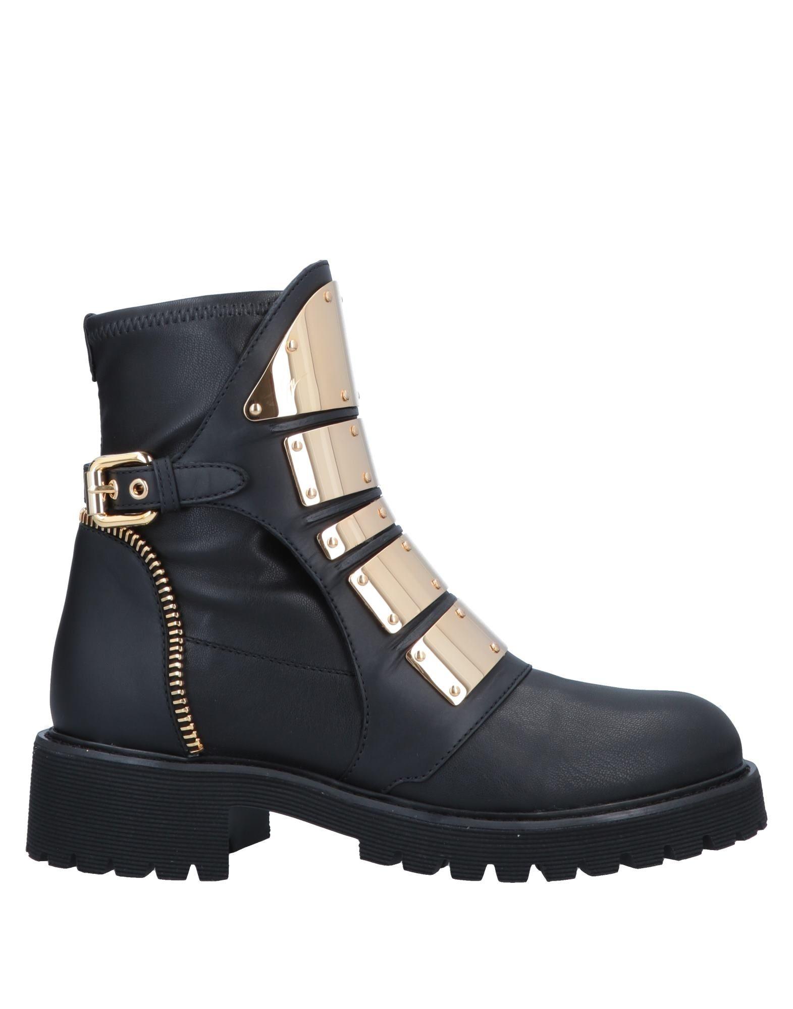 GIUSEPPE ZANOTTI Полусапоги и высокие ботинки демисезонные ботинки giuseppe zanotti design fa150513 hk 15