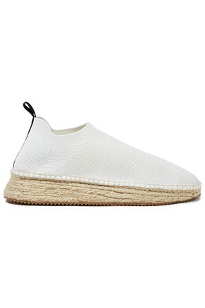 ALEXANDER WANG Dylan stretch-knit espadrille sneakers