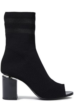 ALEXANDER WANG Cat stretch-knit sock boots
