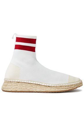 ALEXANDER WANG Dylan stretch-knit sock boots