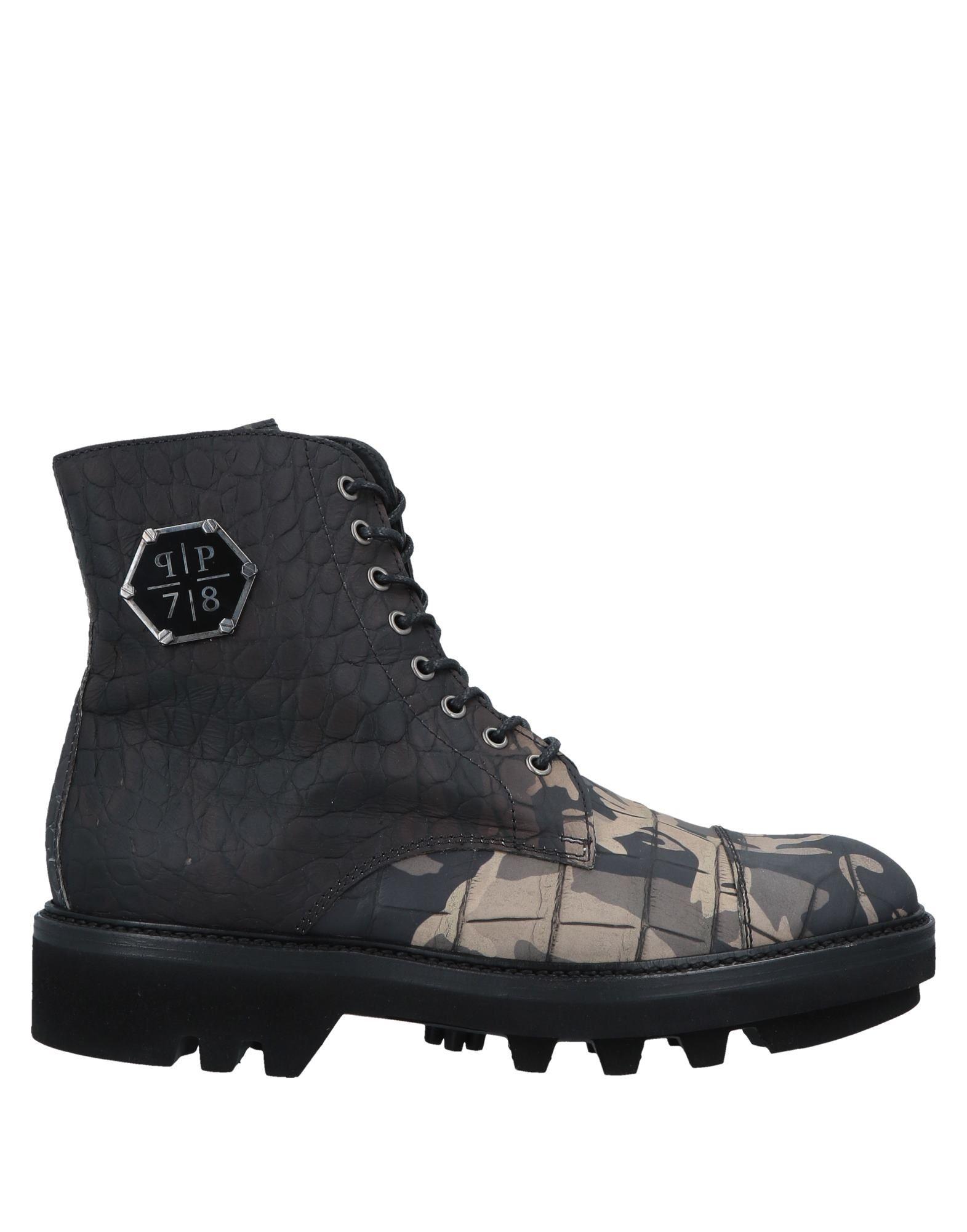 купить PHILIPP PLEIN Полусапоги и высокие ботинки по цене 55000 рублей