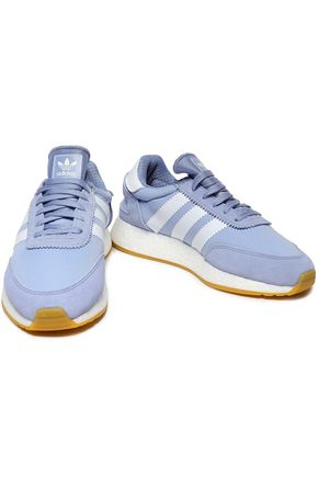 ADIDAS ORIGINALS I-5923 suede-trimmed shell sneakers