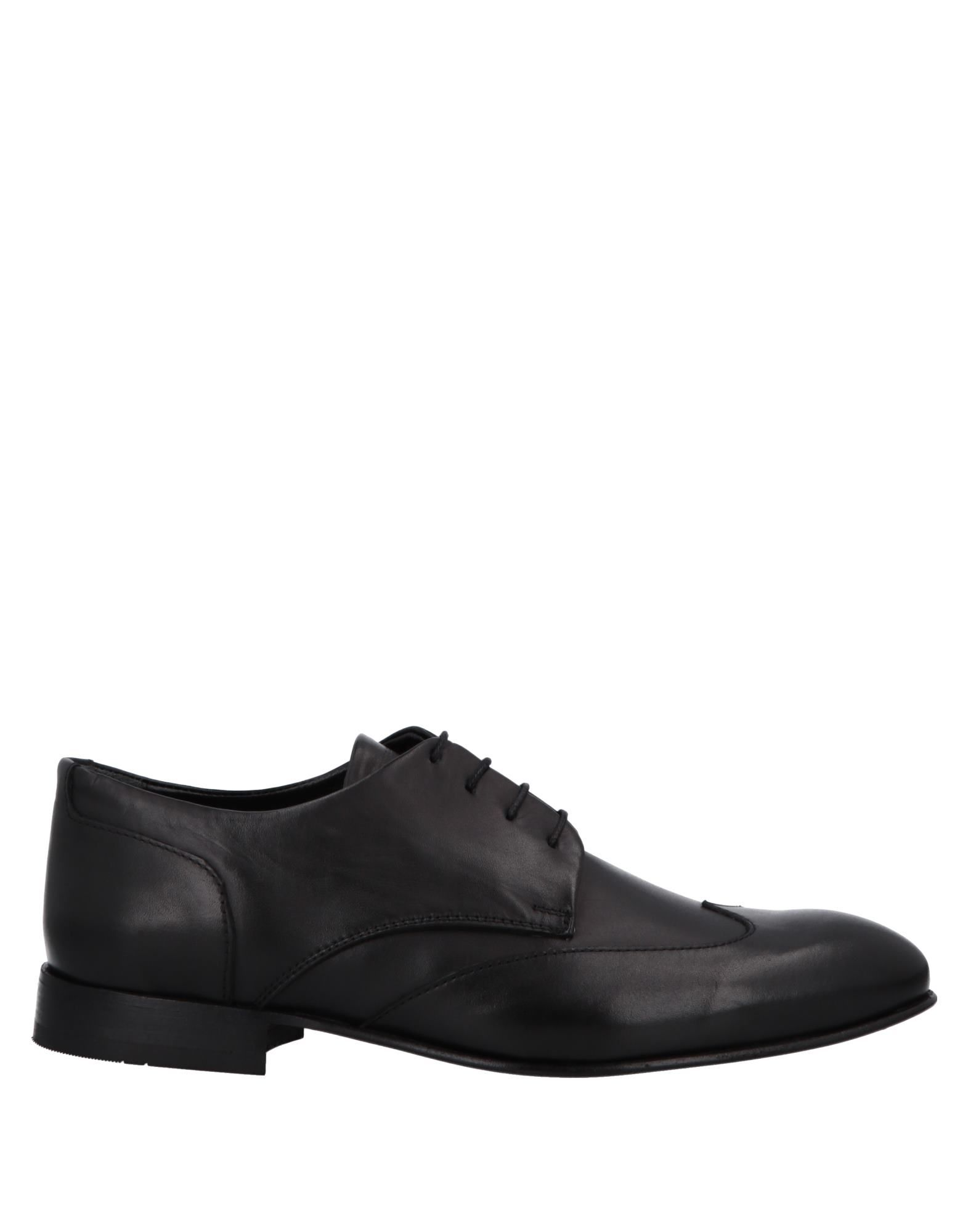 ALESSANDRO DELL'ACQUA Lace-Up Shoes in Black