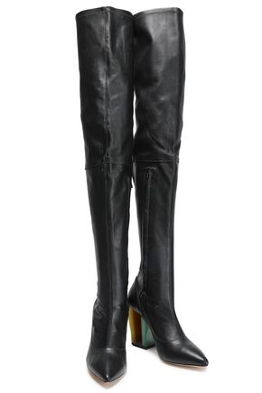 ZIMMERMANN Stretch leather thigh boots