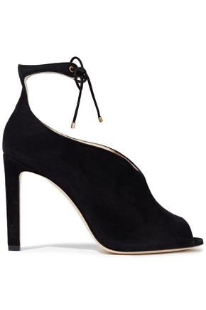 JIMMY CHOO Sayra 105 suede pumps
