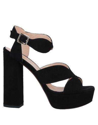 Купить Женские сандали CARLA G. черного цвета