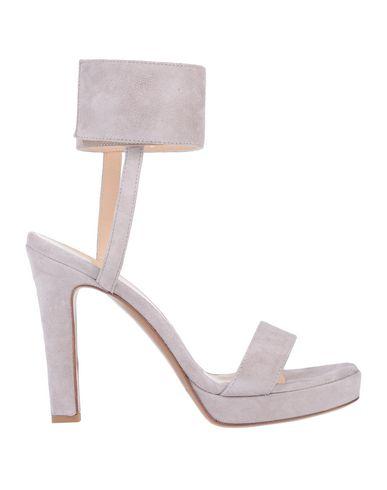 Купить Женские сандали CARLA G. цвет голубиный серый