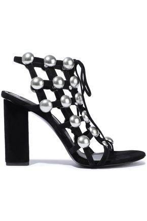 ALEXANDER WANG Rubie studded suede sandals