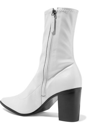 SCHUTZ Amelie stretch-leather sock boots