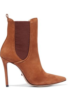 SCHUTZ Basia suede ankle boots