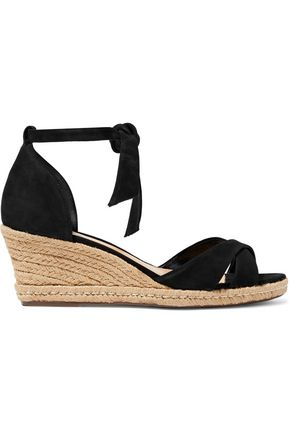 SCHUTZ Scotty nubuck espadrille sandals