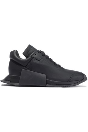 RICK OWENS x ADIDAS New Runner leather sneakers