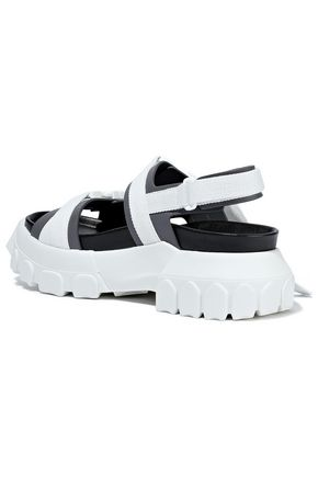 RICK OWENS Sisyphus Hiking leather platform sandals