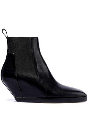 RICK OWENS Mid Heel Boots