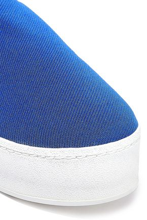 OPENING CEREMONY Cici twill platform slip-on sneakers