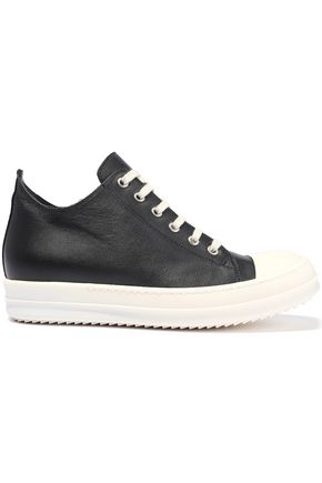 Leather Sneakers by Rick Owens