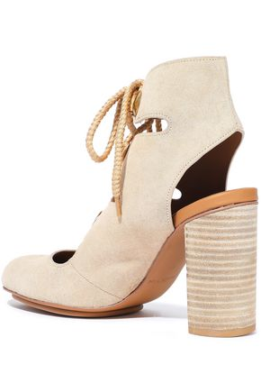e171dc2e700 Edna lace-up suede ankle boots | SEE BY CHLOÉ | Sale up to 70% off ...