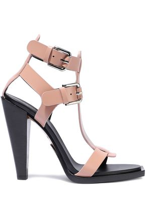 BALMAIN Buckled leather sandals