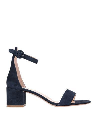Купить Женские сандали BIANCA DI синего цвета