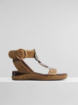 Wanda flat sandal