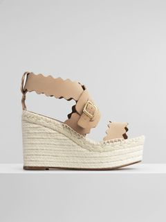 Lauren espadrille wedge sandal