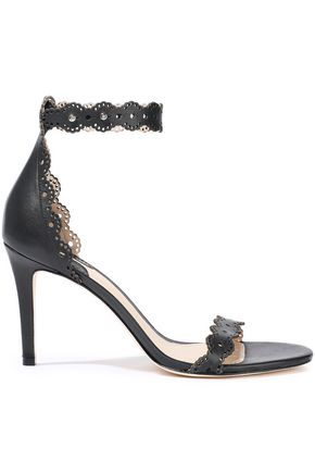 ZIMMERMANN Laser-cut leather sandals