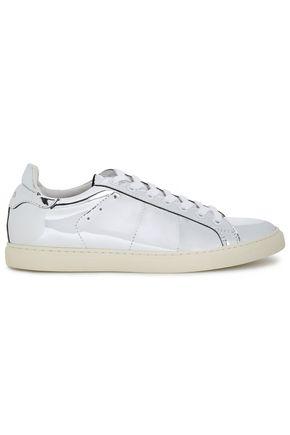 IRO Basic mirrored-leather sneakers