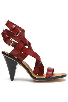 IRO Riara leather sandals