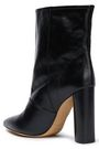 IRO Dravolti ruffle-trimmed leather ankle boots
