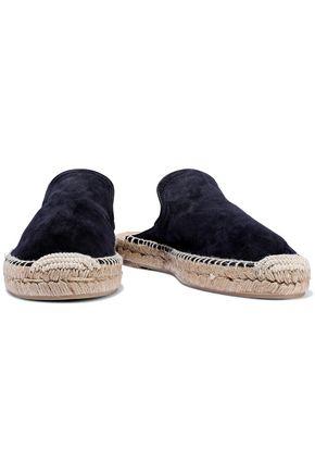 RAG & BONE Clio suede espadrille slippers