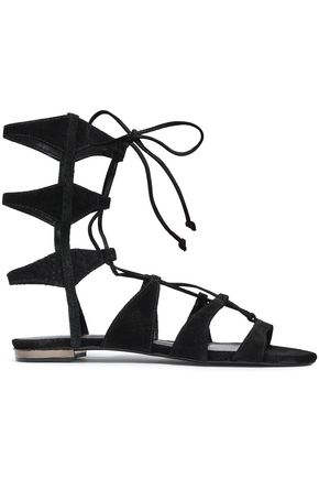 SCHUTZ Suede gladiator sandals