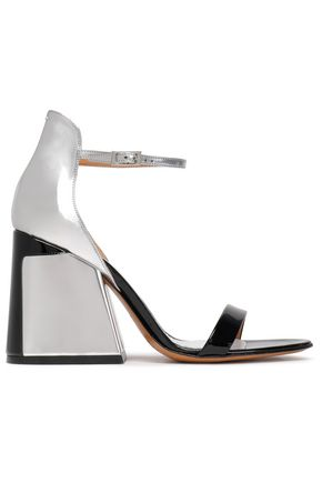 MAISON MARGIELA Mirrored and patent-leather sandals