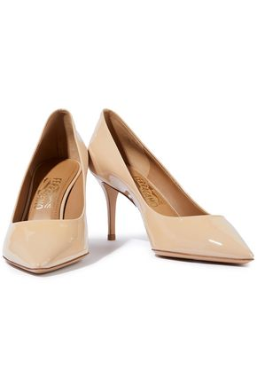 SALVATORE FERRAGAMO Patent-leather pumps
