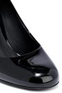 SALVATORE FERRAGAMO Lucca 85 patent-leather pumps