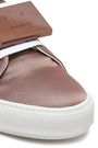 ACNE STUDIOS Appliquéd woven platform sneakers