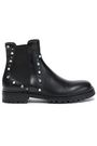 JIMMY CHOO Embellished leather ankle boots