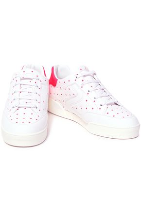 STELLA McCARTNEY Perforated faux leather sneakers
