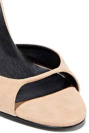 STELLA McCARTNEY Faux suede sandals