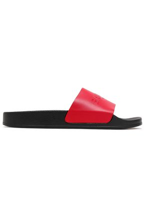 BALMAIN Leather slides