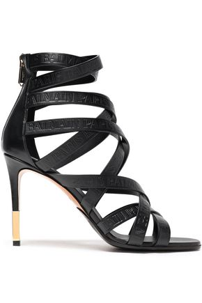 BALMAIN Leather sandals