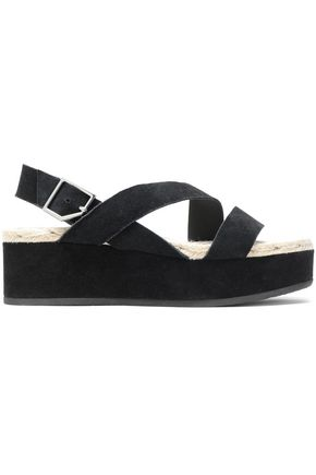 RAG & BONE Megan suede platform sandals