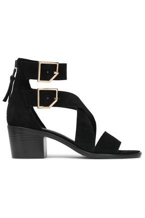 RAG & BONE Buckled suede sandals