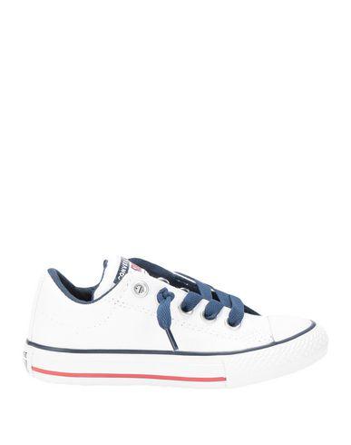 Фото - Низкие кеды и кроссовки от CONVERSE ALL STAR белого цвета